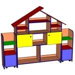Модульная группа Теремок 203 - мебель для детских садов
